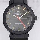 IWC Porsche Design PVD Aluband Crosshair Kompassuhr Black