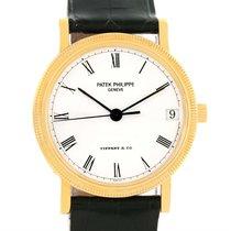 Patek Philippe Calatrava Tiffany 18k Yellow Gold Watch 3802...