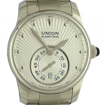 Union Glashütte Seris kleine Sekunde Stahl Automatik 36mm