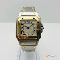 Cartier Santos Gold & Steel 1566
