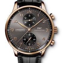 "IWC Portuguese Chronograph Rose Gold ""ardoise"" Grey..."