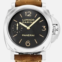 Panerai Luminor Marina 1950 3 days Black Dial Brown Leather...