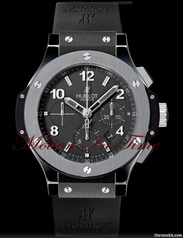 Hublot BIG BANG ICE BANG ALL BLACK w/ TUNGSTEN BEZEL RARE