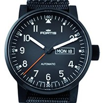 Fortis Spacematic Pilot Professional Black 623.18.71 N 01