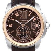 Cartier Calibre de Cartier Stahl/Rotgold W7100051