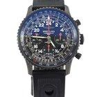 Breitling Navitimer Cosmonaute Blacksteel chrono Limited ed....