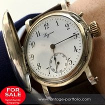 Longines Amazing Longines silver cased watch of the 1.rst...