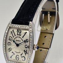 Franck Muller Curvex 18k White Gold Diamond Watch Box/Papers...
