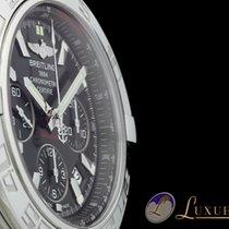 Breitling Chronomat 44 Edelstahl mit schwarzem Zifferblatt |...