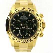 Rolex Daytona yellow gold green dial 116508