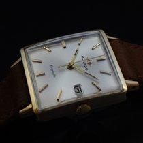Movado Vintage Kingmatic Watch Men's 18k Gold New