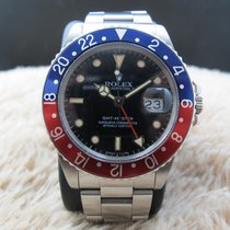 Rolex Oyster Perpetual Gmt Master 16750 Stainless Steel...