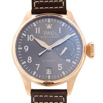 IWC Pilots 18k Rose Gold Dark Grey Automatic IW500917
