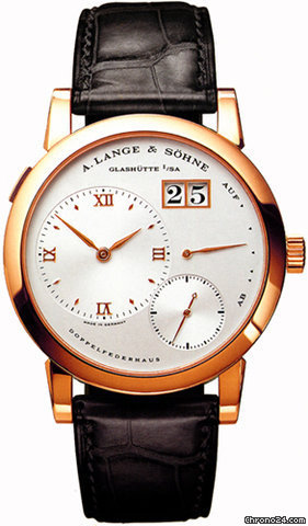 A. Lange &amp;amp; Shne LANGE 1 ROSE GOLD - MEN&amp;#39;S - POWER RESERVE