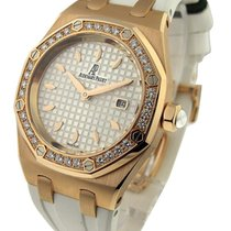 Audemars Piguet Royal Oak Lady's in Rose Gold with Diamond...