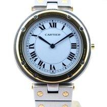 Cartier Santos Grand modèle Or et acier