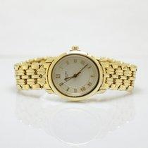Chaumet Ladies 18k Yellow Gold Quartz Timepiece On Bracelet