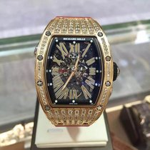Richard Mille [NEW] RM 037 Rose Gold Ladies Automatic MDDS...