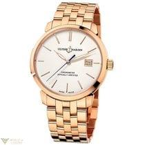 Ulysse Nardin Classico Rose Gold 18K Bracelet Men`s Watch