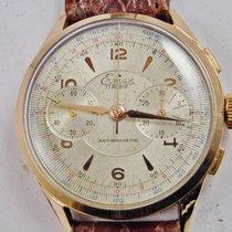 erman cronografo manuale anni '50 oro 750