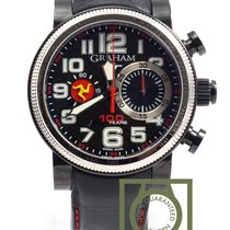 Graham Silverstone TT Isle of Man Limited Ed. chrono carbon dial