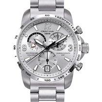 Certina DS Podium GMT | Silber (Stahlband)