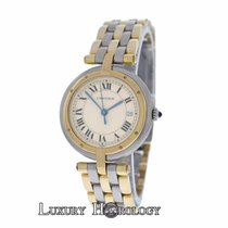 Cartier Lady's Cartier Panthere Vendome Cougar 3 Row 18K...