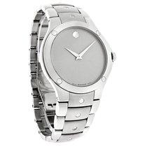 Movado Sports Edition SE Mens Silver Dial Swiss Quartz Watch...