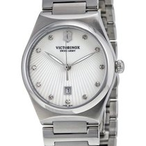 Victorinox Swiss Army Victoria Steel Womens Watch Mother-of-Pe...