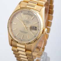 Rolex Men's Day Date President - Champagne Index - Double...