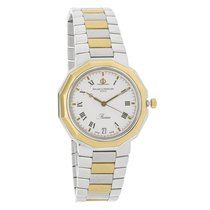 Baume & Mercier Riviera Mens Two Tone 18K Swiss Quartz...
