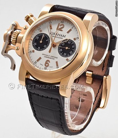 Graham Chronofighter Rotgold - 2CFAR.B10A.C54B