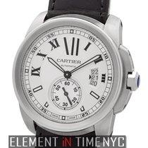 Cartier Calibre Collection Calibre Stainless Steel Silver Dial...