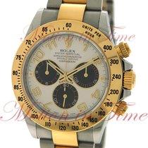 "Rolex Cosmograph Daytona, Ivory ""Panda"" Dial - Yellow..."