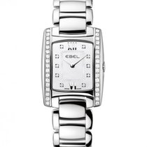 Ebel Brasilia Steel Case With Diamonds, Mother of Pearl Dial