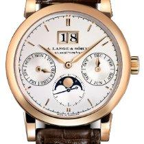 A. Lange & Söhne Saxonia Annual Calendar Rose Gold Watch