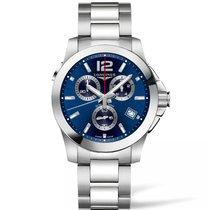 Longines Conquest Quartz Chronograph Men's Watch