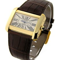 Cartier Tank Divan in Yellow Gold
