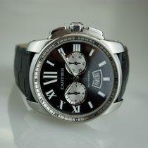 Cartier Calibre Chronographe Black Dial