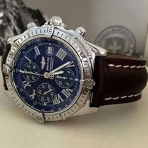 Breitling Crosswind Steel Blue Roman Dial 43 mm (2004)