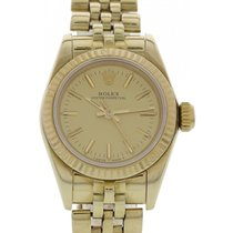 Rolex Ladies Rolex Oyster Perpetual 14K Yellow Gold 67197