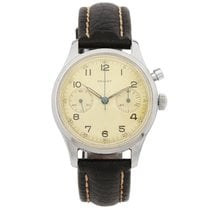 Gallet RCAF Monopusher Chronograph 6W/16 Pilot Watch