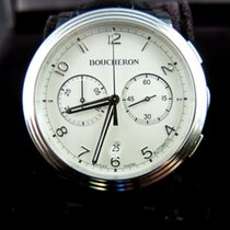 Boucheron Chronographe en acier, modèle Paname