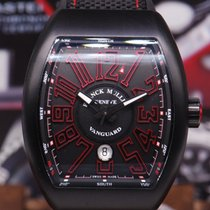 Franck Muller Vanguard Black Automatic Ref V45sc Dt (new-unworn)
