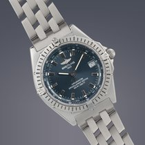 Breitling Wings stainless steel automatic watch