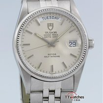 Tudor Oyster Prince Date Day By Rolex 94710 Vintage