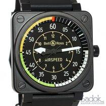 Bell & Ross Airspeed LE Flight Instrument Watch Steel...