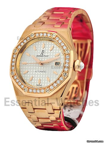 Audemars Piguet Royal Oak Lady's / Rose Gold with Diamonds