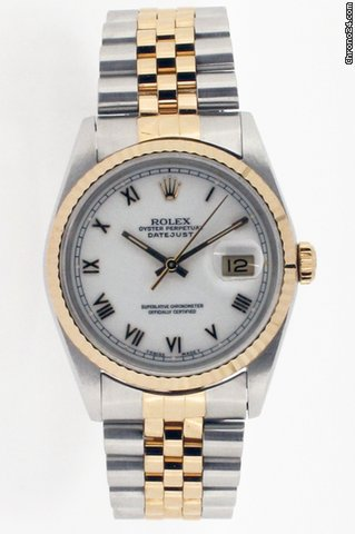 Rolex Oyster Perpetual Date-Just. Model No 16233