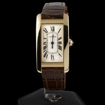 Cartier TANK AMERICANE LADY YELLOW GOLD